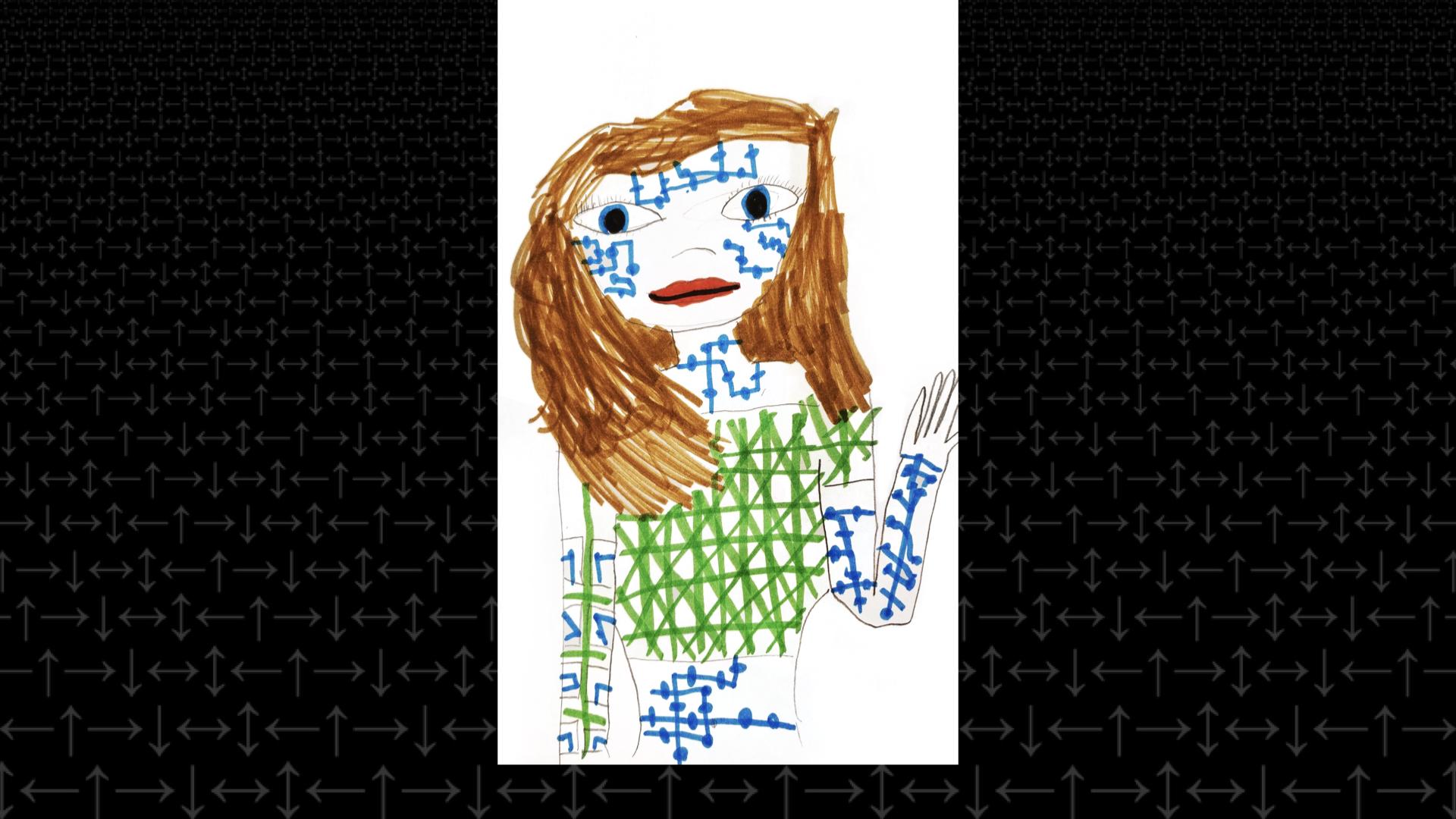 """Drawing of Alexa"""